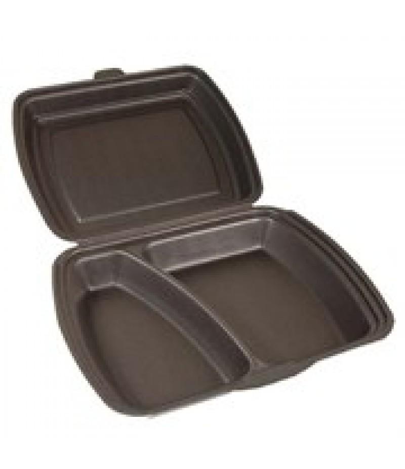 Lunchbox 2-Vaks Zwart HP-4 100 Stuks
