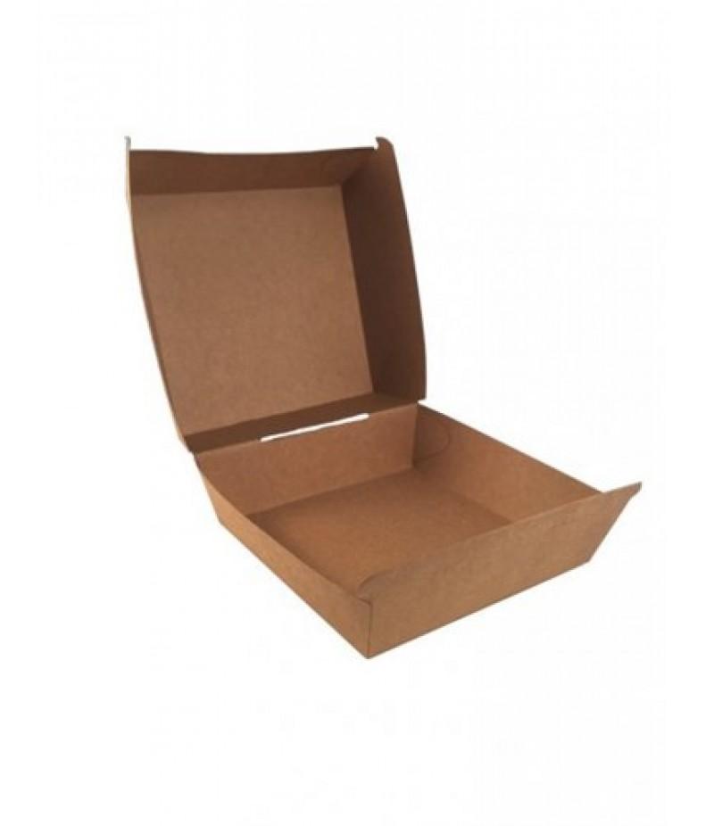 Hamburgerbox Kraft 116x120x70mm FSC® 600 Stuks