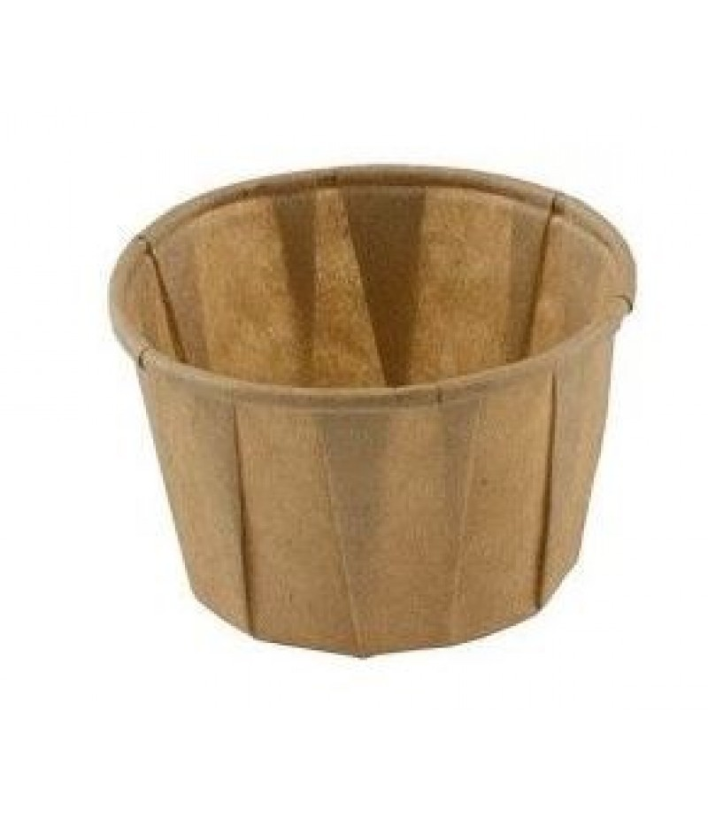 Sausbakje Bruin Papier FSC® 3.25oz/100ml 2000 St Natu 429520