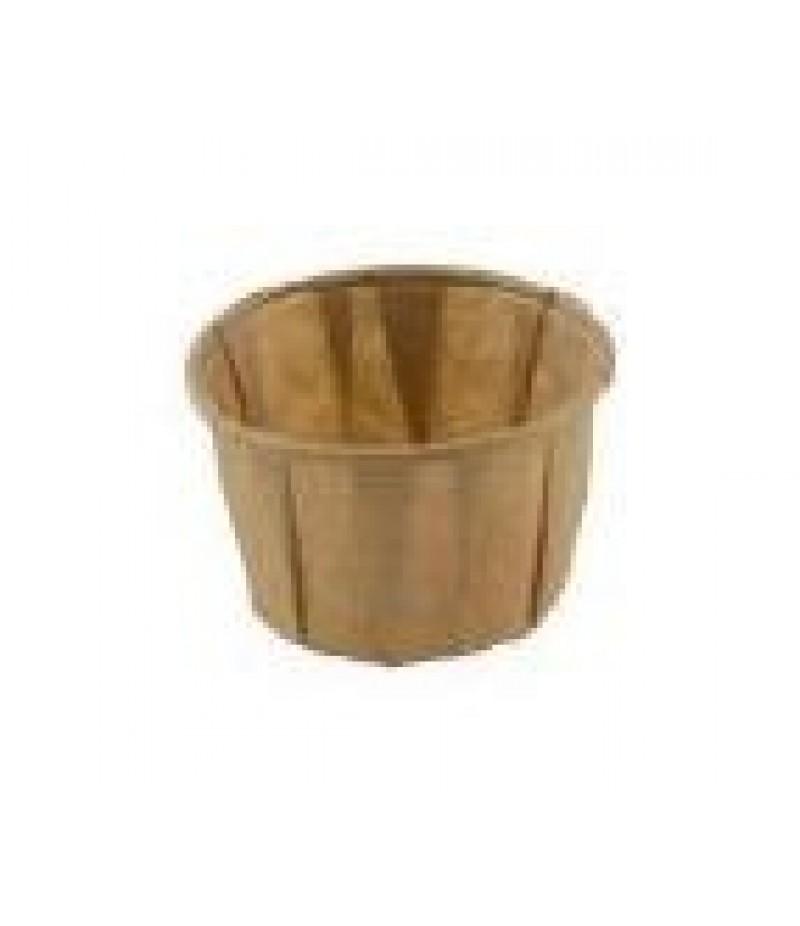 Sausbakje Bruin Papier FSC® 1,25oz/37ml 250 Stuks