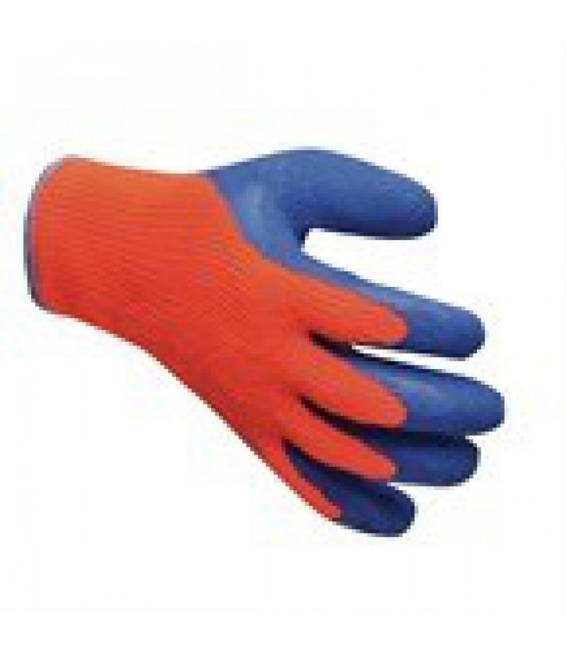 Handschoen Diepvries Oranje/Blauw Per Paar