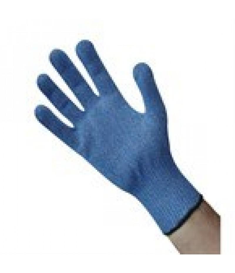 Blauwe Snijbestendige Handschoen Maat M 7-8