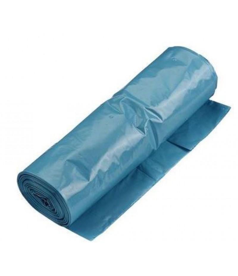 Vuilniszak Blauw 90x110cm 10x20 Stuks PK