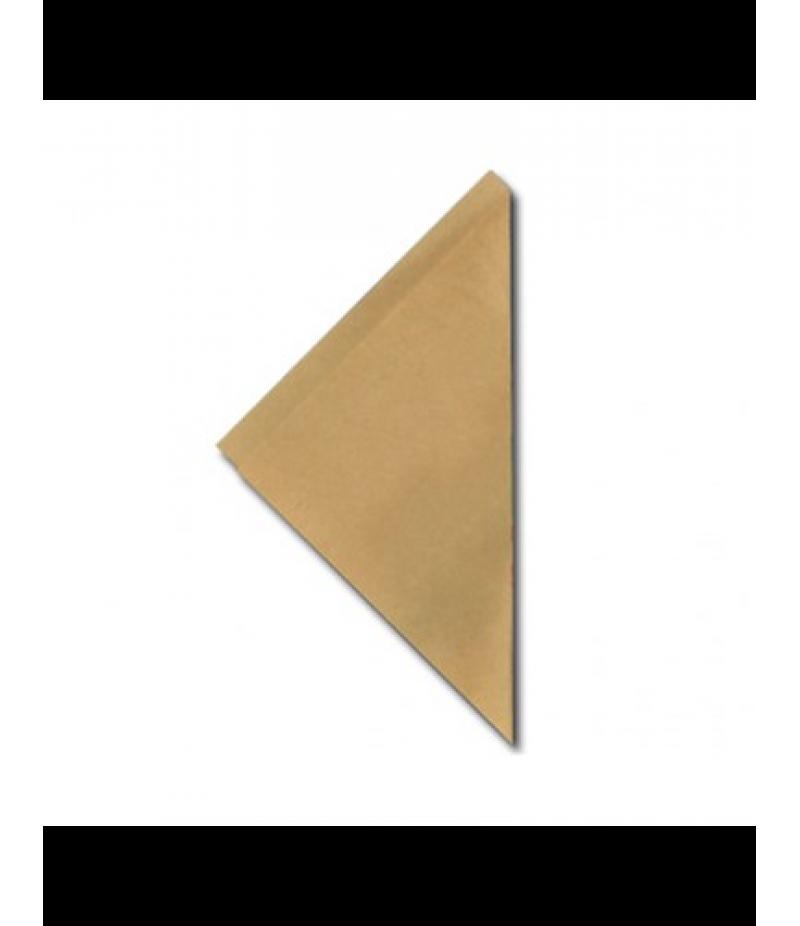 FSC® papieren frietzak K21 bruin 5 kg