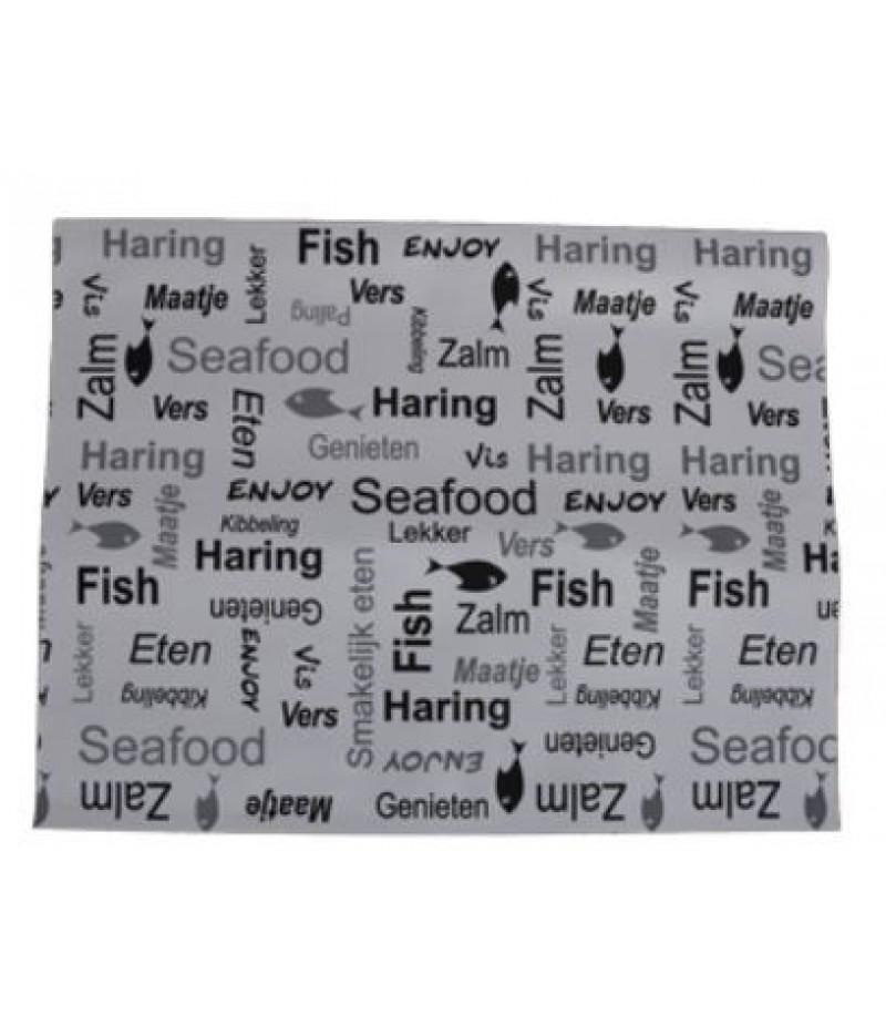 Vellen (Sealbag) 33x29vm Enjoy Fish 700 Stuks