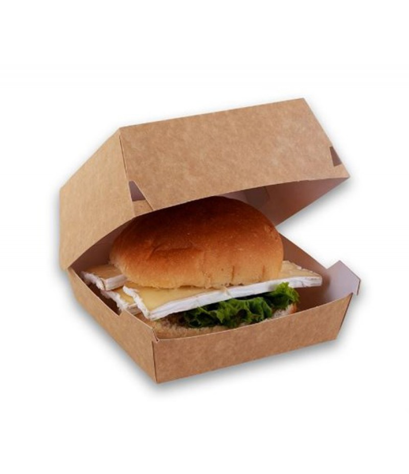 Hamburger Bak Karton P2P 90x90x70mm 500 Stuks GP