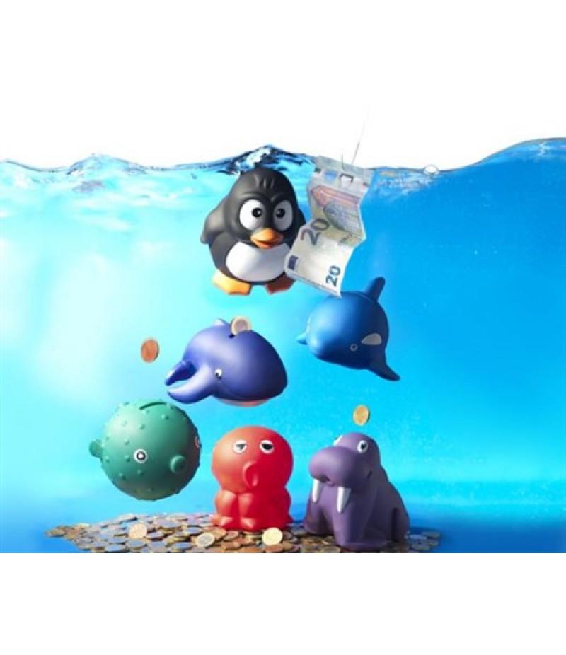 Toykits Deep Sea Spaarpotten 96 stuks