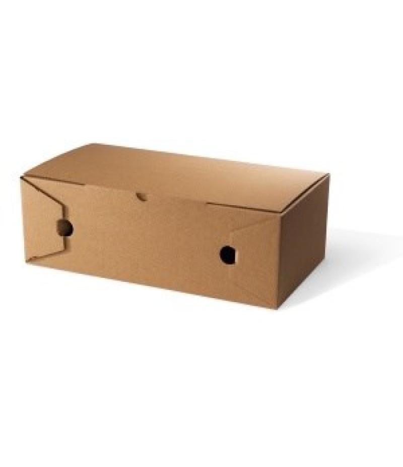Pizza/Calzone Box Kraft 300x160x100mm 100 Stuks