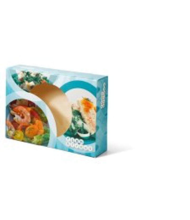 Cateringdoos 35cm Fish&Fresh 50 Stuks OP=OP