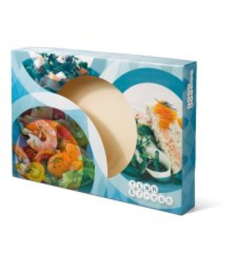 Cateringdoos 55cm Fish&Fresh 50 Stuks OP=OP