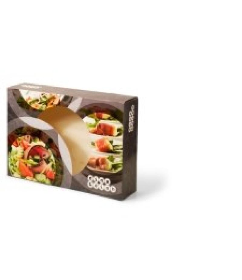 Cateringdoos 35cm Dine&Dish 50 Stuks OP=OP