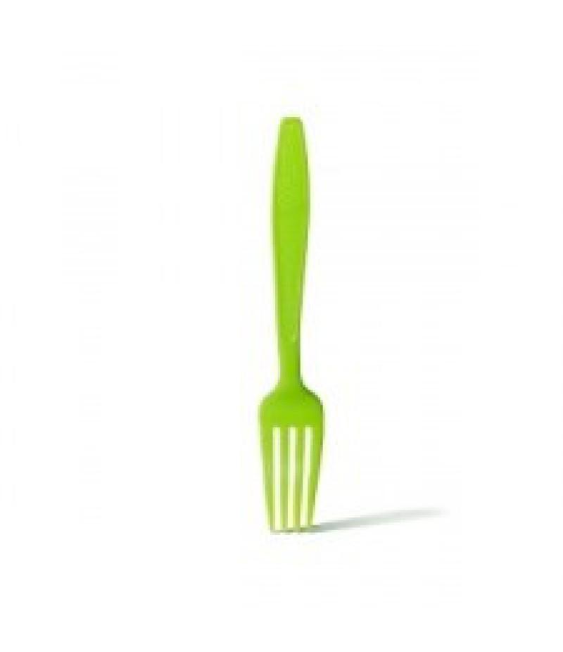 Vork Plastic Groen 100 Stuks