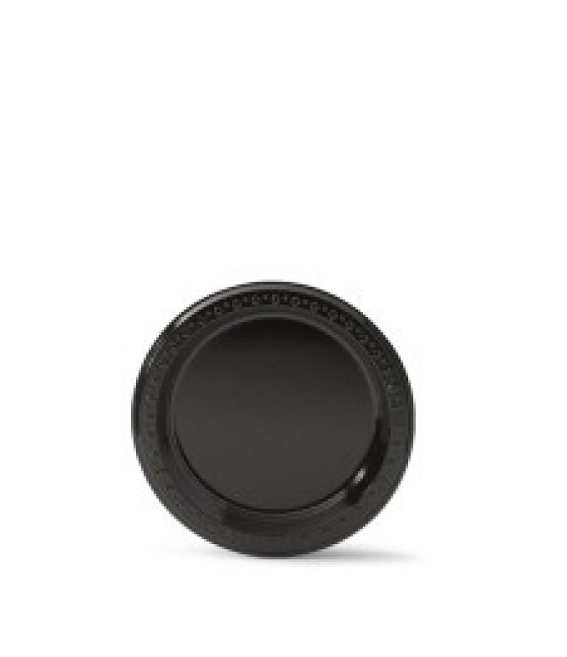 Bord 16.5cm Zwart PS86009 125 Stuks