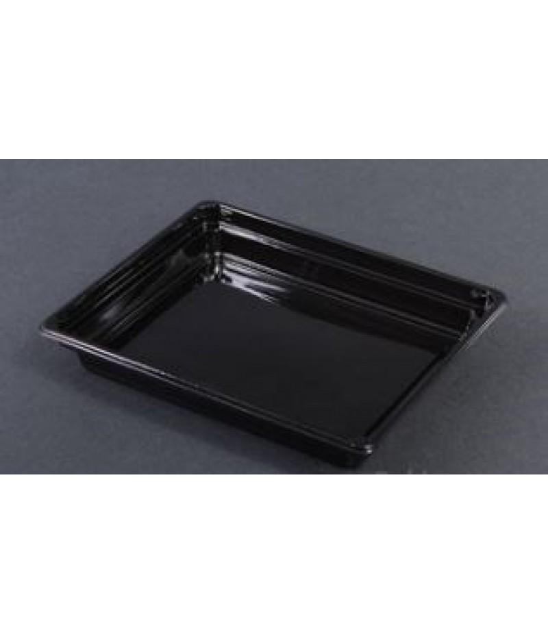 Sushi Tray APET Zwart 171x143  600 Stuks  S.9333.02