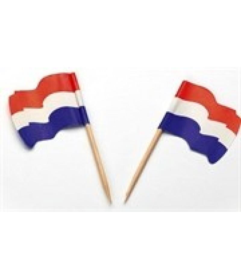Prikker Vlaggetje Nederland  5x144 Stuks 35004