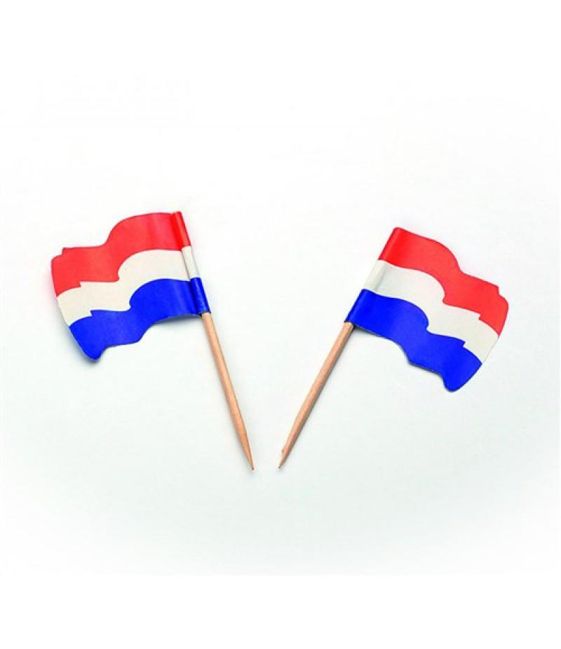 Prikker Vlaggetje Papier Nederland  5x144 Stuks 35004