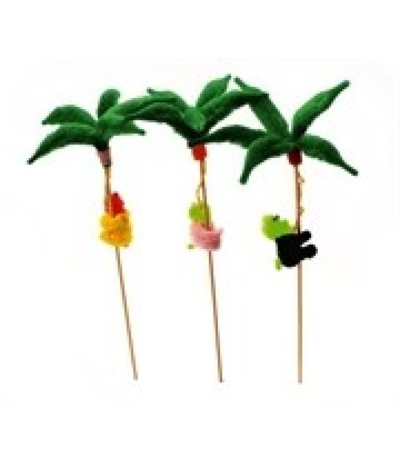 Klimaap in Palmboom Op Prikker 250mm 50 Stuks