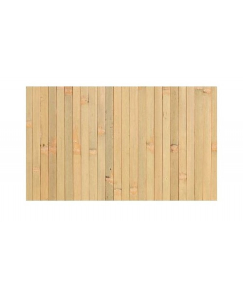 Placemat Rechthoekig Bamboo Naturel 45x33cm Per 6 Verpakt