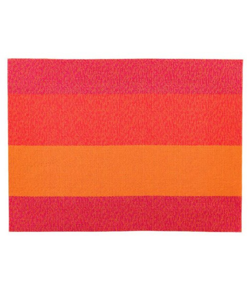 Placemat Rechthoekig Oranje/Rood/Roze 45x33cm 24 Stuks