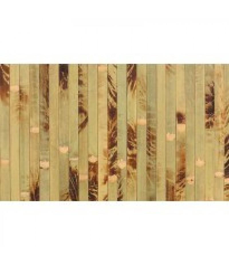 Placemat Rechthoekig Bamboo Bruin 45x33cm Per 6 Verpakt