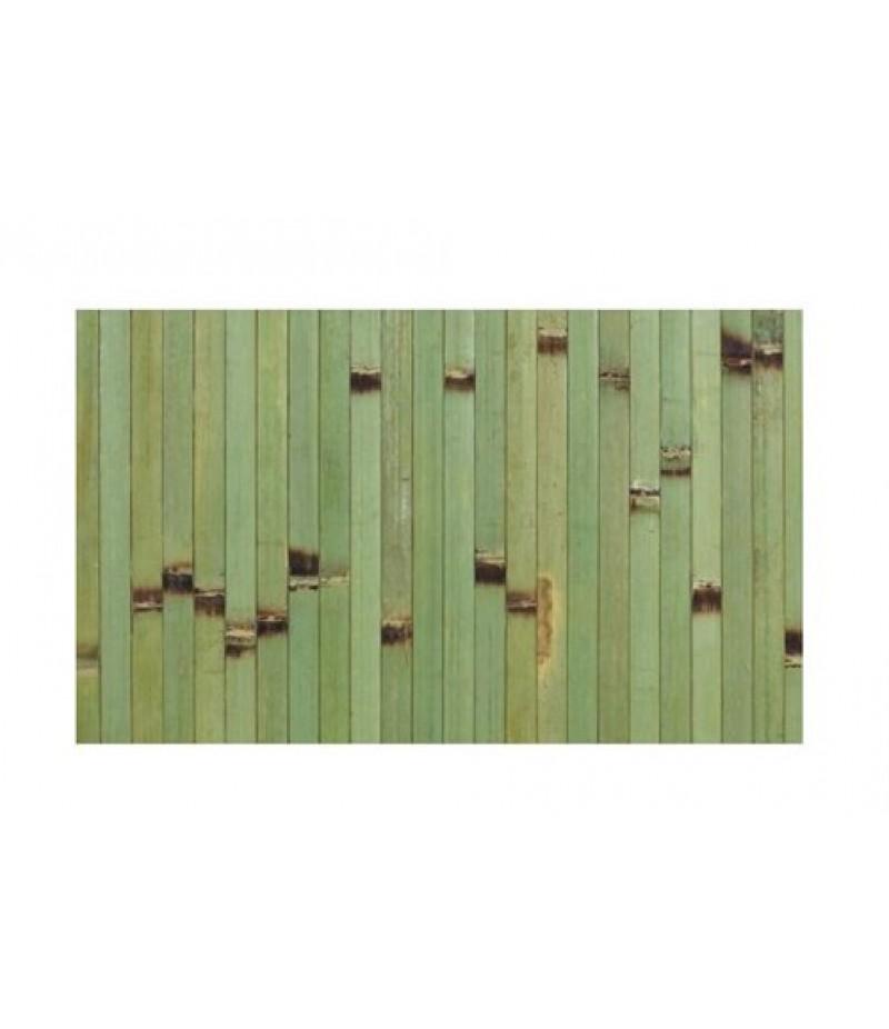 Placemat Rechthoekig Bamboo Groen 45x33cm Per 6 Verpakt