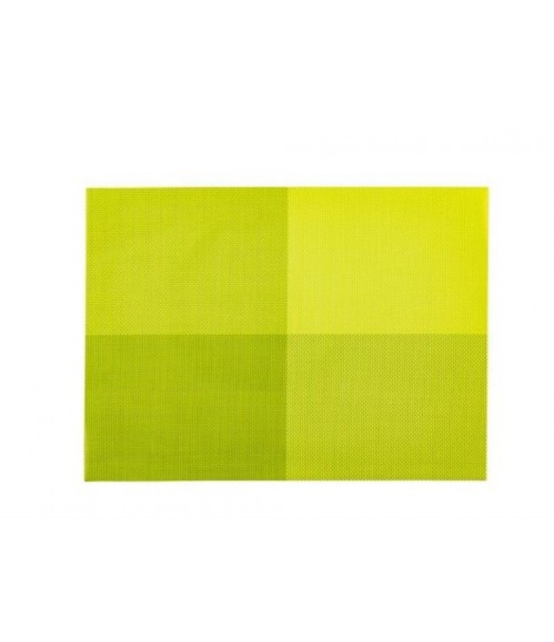 Placemat Rechthoekig Groen 45x33cm Per 24 Verpakt