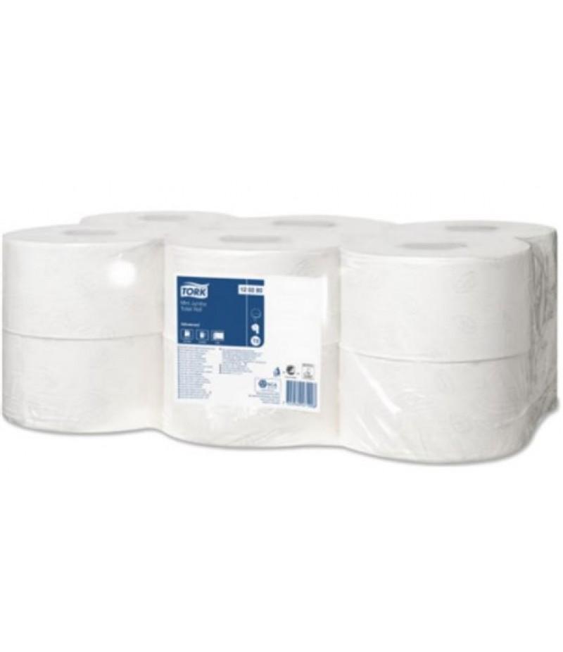 Toiletpapier Tork Dispenser Wit Bulk 556000