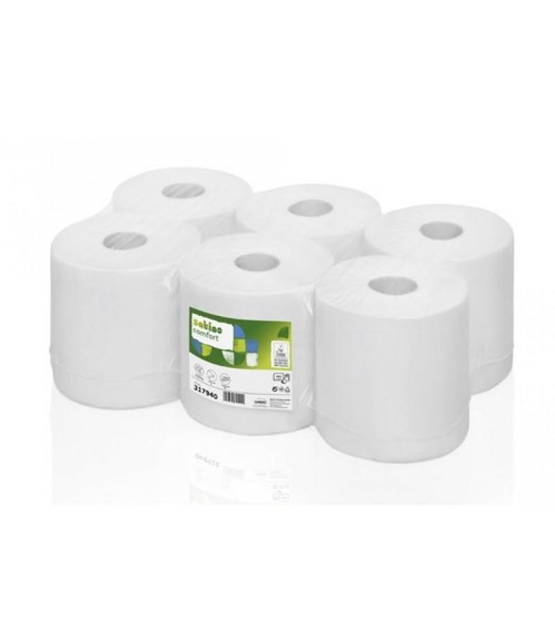 Handdoekrol Comfort Tissue PT1 6 Rol 2Lgs 317940 Satino Wepa