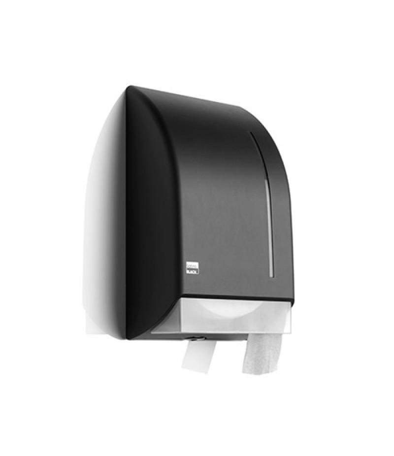 Toiletdispenser Jumbo Zwart 331960 Black Satino