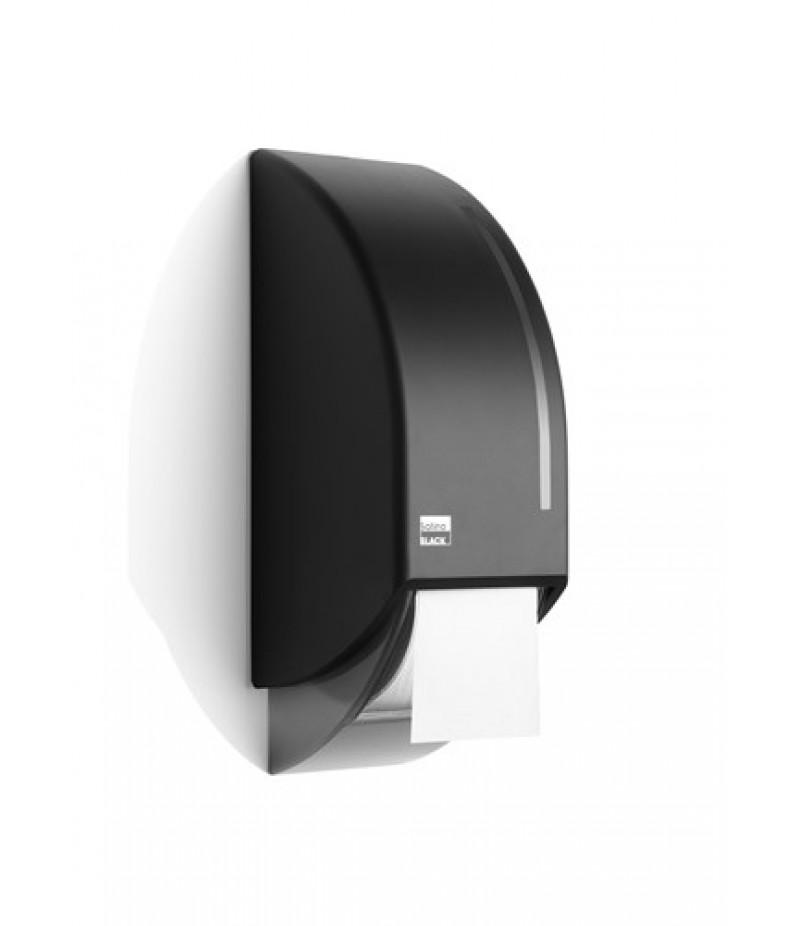Toilet/Systeemroldispenser Zwart 331950 Black Satino