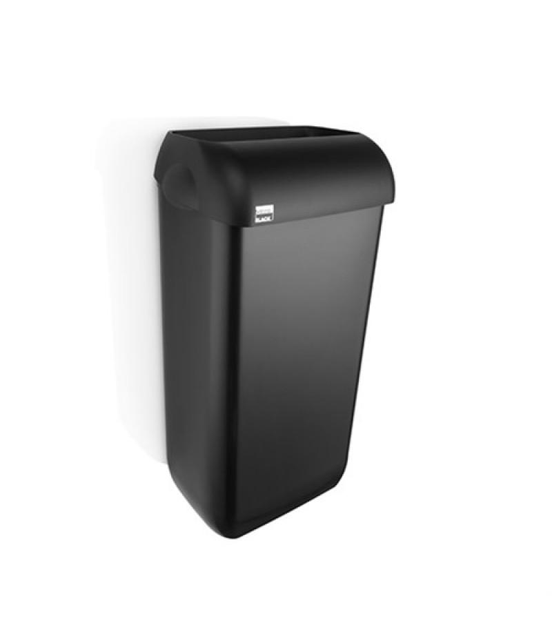 Afvalbak Zwart 23 Liter 331830 Black Satino