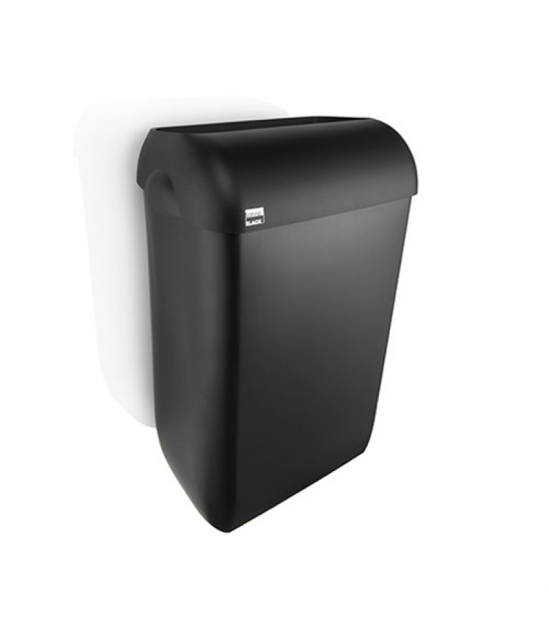 Afvalbak Zwart 43 Liter 331760 Black Satino
