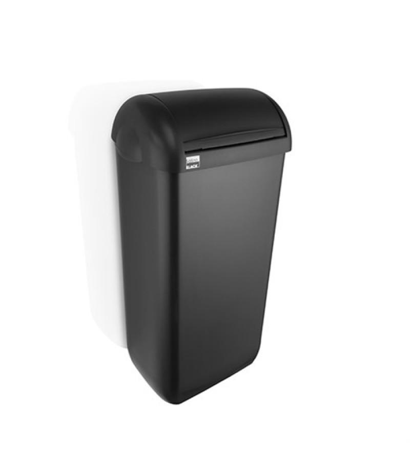 Hygienebox Zwart 23 Liter 331840 Black Satino