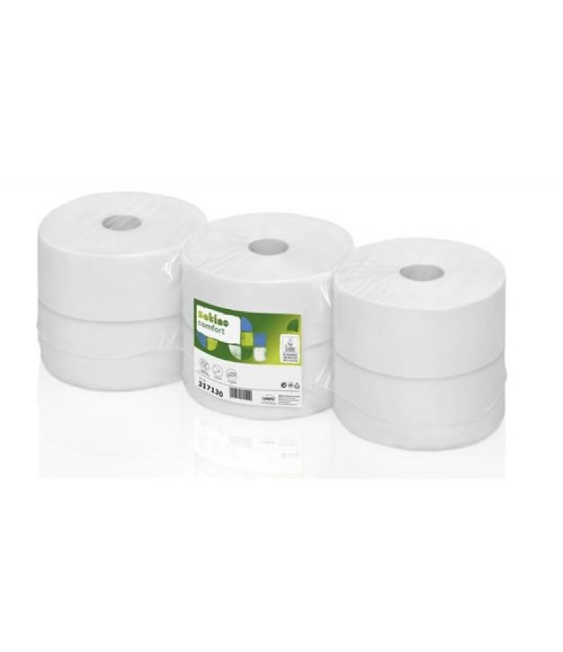 Toiletpapier Comfort Jumborol 2-Lgs 6 Rol 317130 Satino Wepa