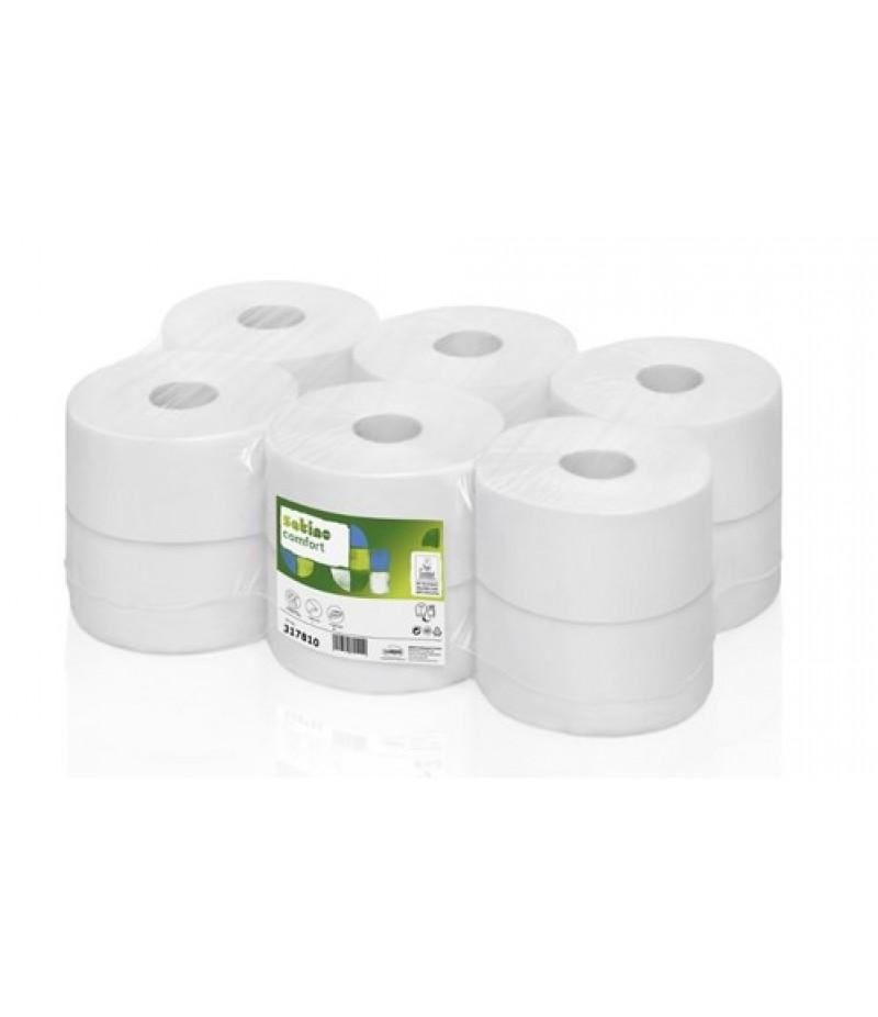 Toiletpapier Jumborol 2-Lgs JT1 12 Rol 317810 Satino Wepa