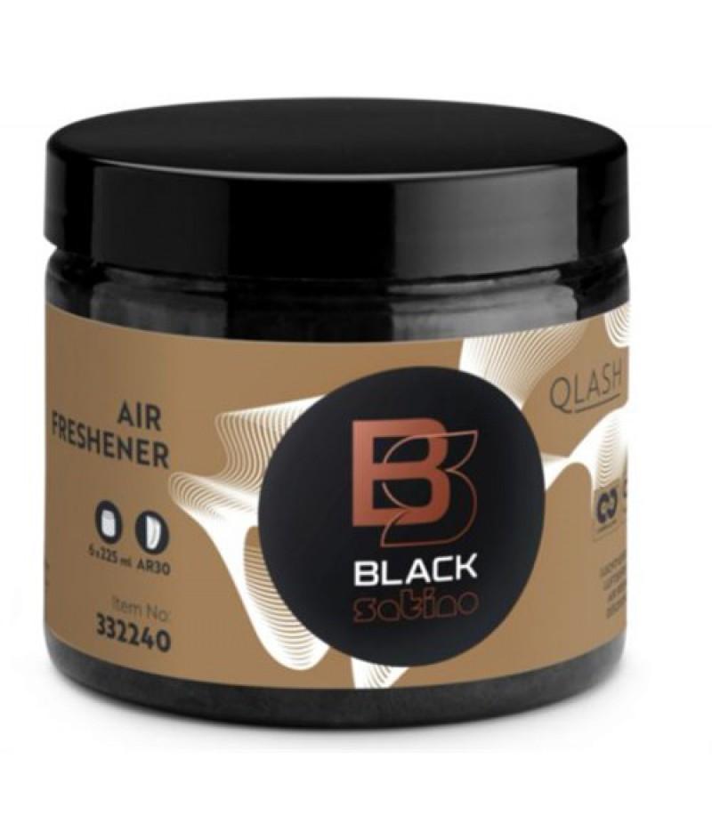 Luchtverfrisser Qlash 6x225ml 332240/180329 Black Satino