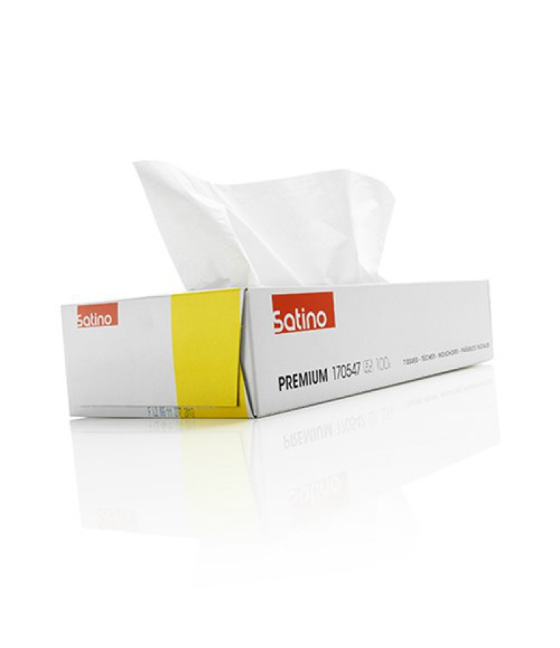 Facial Tissues 2-Laags 100st 200351/170547 Satino Premium