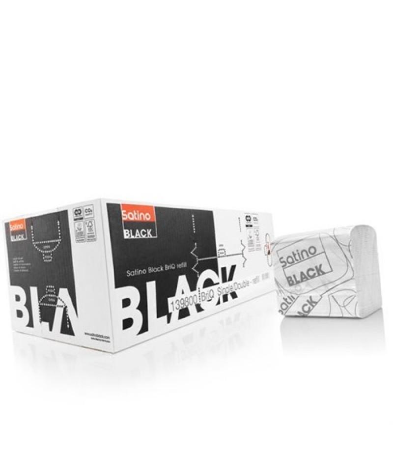 Toiletpapier BriQ Refill 36 Bundels 062750 Black Satino