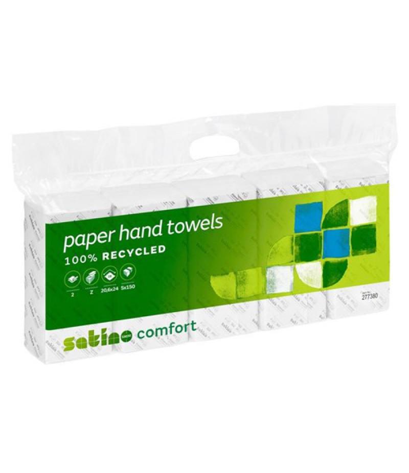 Handdoekpapier Comfort PT2 W 276800 TBV Disp. Karton Bruin