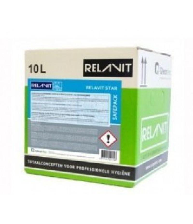 Relavit Star Universeel Spoelglansmiddel 10 Ltr (bag in box)