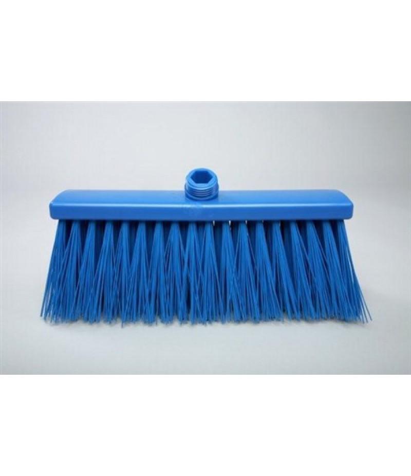 Bezem Hard Blauw 300x60x110mm