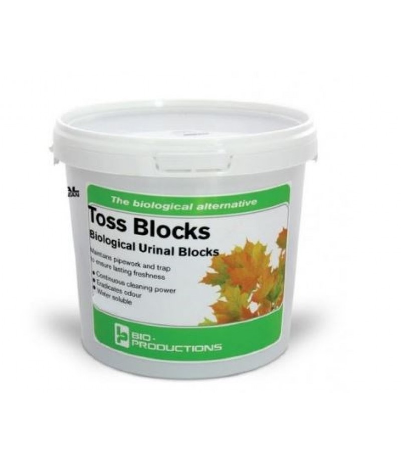Urinoirblokken In Emmer 140 Stuks Bio Blocks