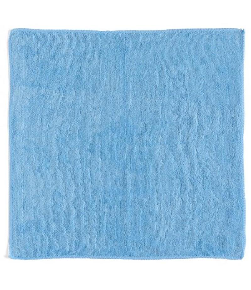 Microvezeldoek 40x40 cm Blauw 5 stuks