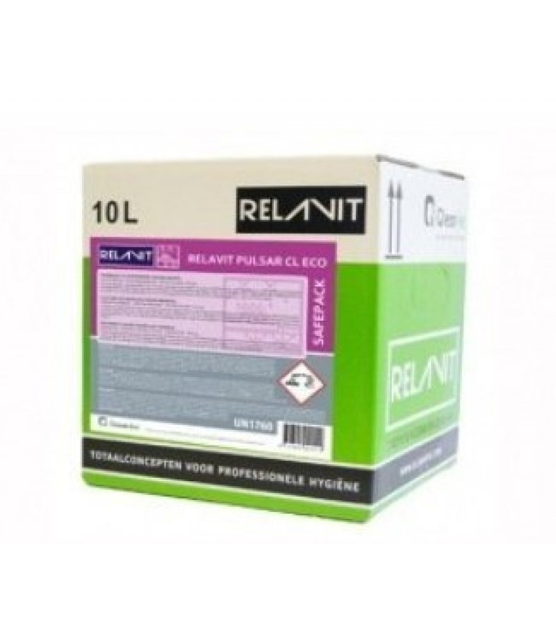 Relavit Pulsar Vaatwasmiddel 10 ltr (bag in the box)