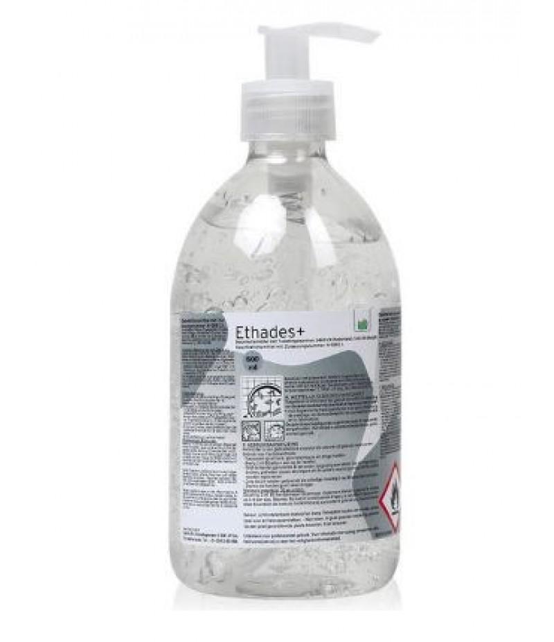 Handgel Desinfecterend Ethades(+) Met Pompje 500ml