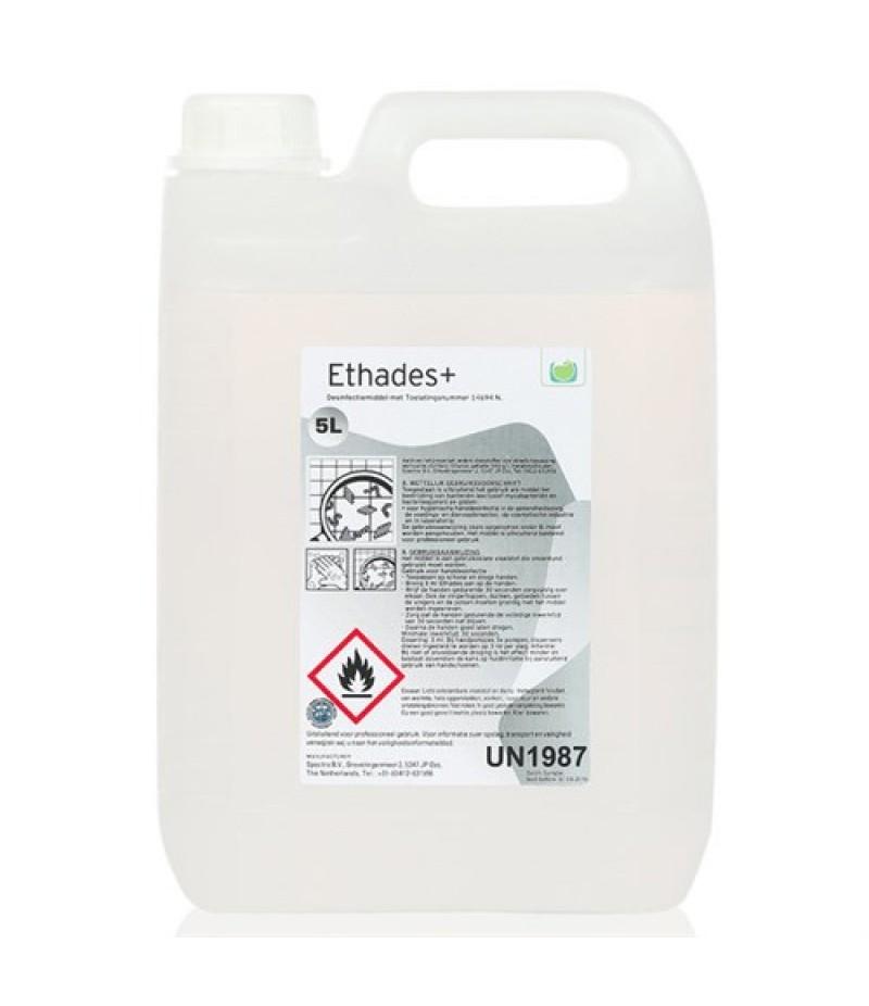 Handgel Desinfecterend Ethades+ Can 5 Liter
