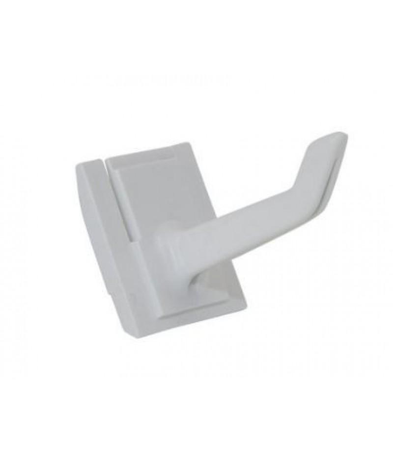 Haak Toolflex Wit 25mm Kunststof Betra