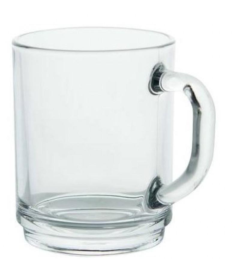 Beker Mammoet Budgetline Stapelo 25cl Transparant Hardglas