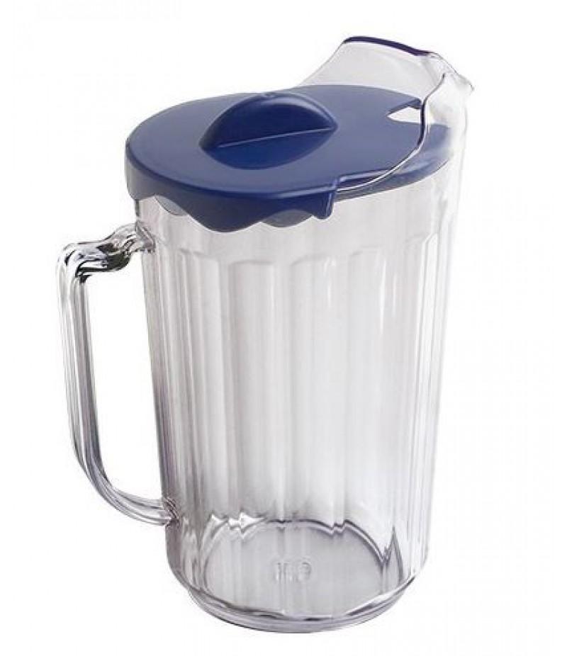 Schenkkan Transparant Polycarbonaat Met Deksel 1,8 Liter