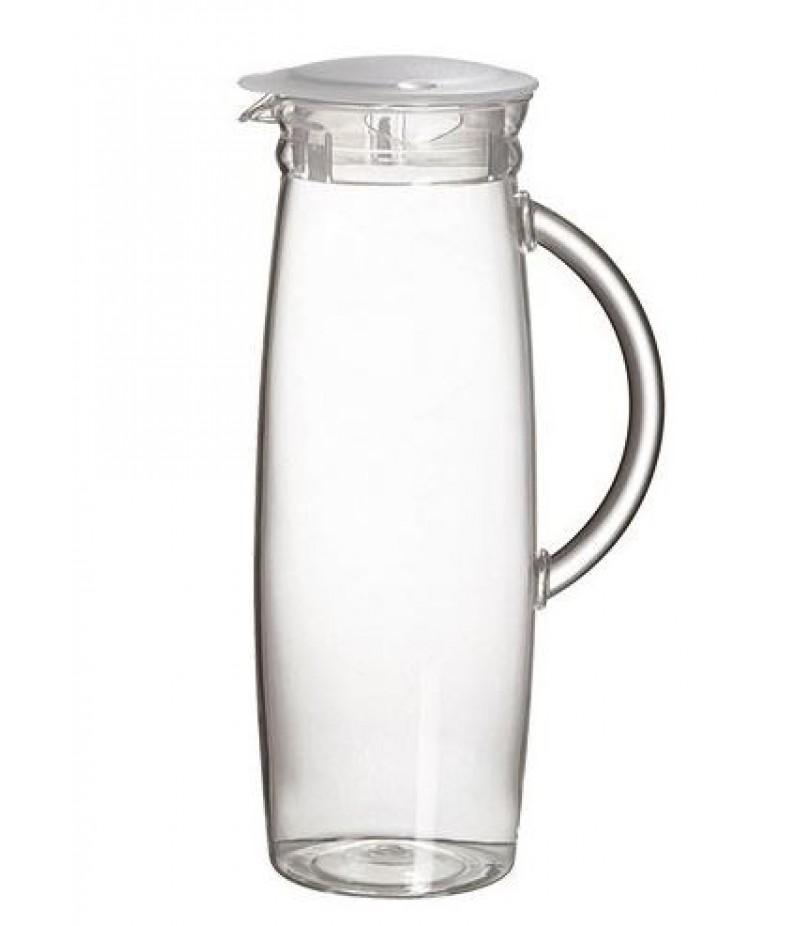Schenkkan Transparant Wit 1,3 Liter